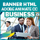 Business Banners HTML5 - 7 Sizes - (Animate CC) - CodeCanyon Item for Sale