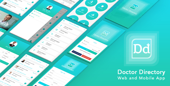 Doctor Directory Mobile Application With Web Portal - CodeCanyon Item for Sale