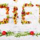 Word diet is made from fruite and vegetables. Healthy vegan diet raw food. - PhotoDune Item for Sale
