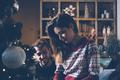 Loving couple preparing to Christmas - PhotoDune Item for Sale