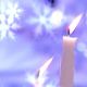 Snowflakes & Candles HD - VideoHive Item for Sale