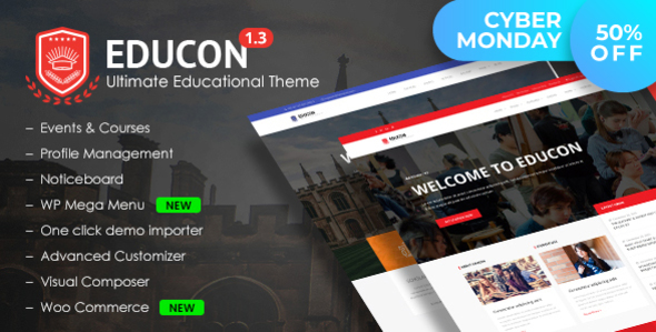 Educon - Education WordPress Theme