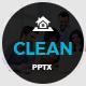 Clean Google Slides Presentation Template 2017 - GraphicRiver Item for Sale