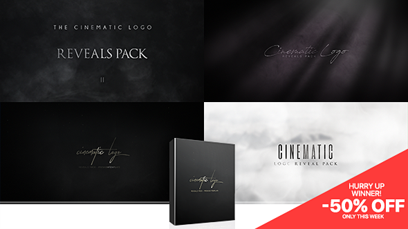 Videohive - Cinematic Logo Reveals Pack 20762573