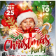 Kids Christmas Party Flyer Template