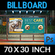 Veterinarian Clinic Billboard Template