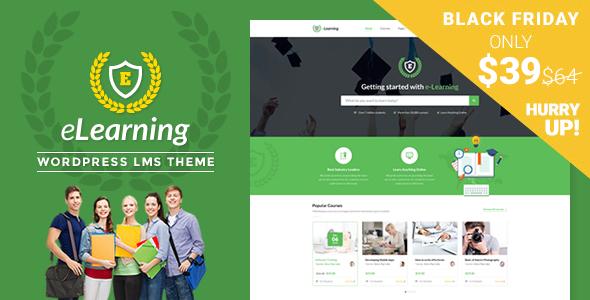LMS WordPress Theme - eLearning WP - Education WordPress