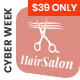 Hair Salon WordPress Theme - Hair Salon WP - ThemeForest Item for Sale