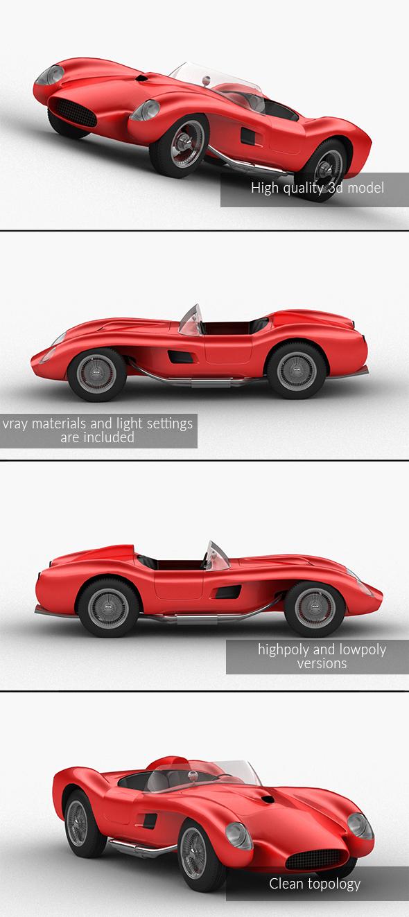 3DOcean Ferrari testarossa 21016272