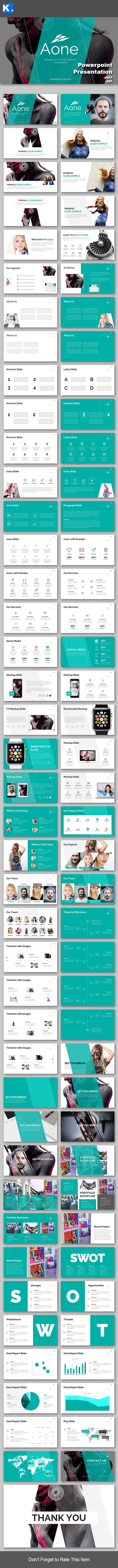 Aone - Powerpoint Presentation Template - Creative PowerPoint Templates