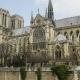 Notre Dame De Paris, or Notre Dame Cathedral, Paris, France.