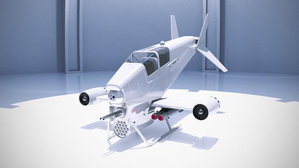 3DOcean combat aircraft 21016493