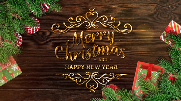 Merry Christmas and Happy New Year 2018 by fimich38 | VideoHive