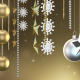 Silver And Gold Christmas Ornaments - VideoHive Item for Sale