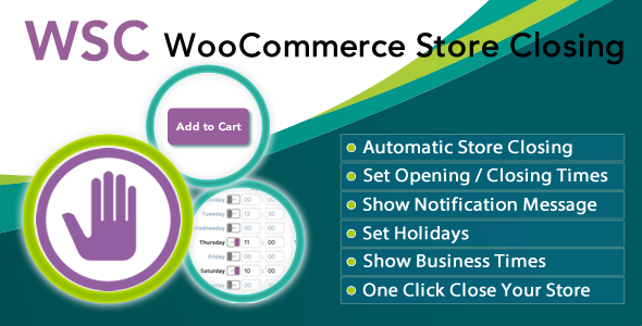 Woocommerce Store Closing - CodeCanyon Item for Sale