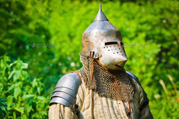 knight in  armor - Stock Photo - Images