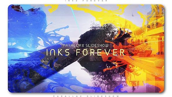 Videohive Inks Forever Parallax Slideshow 21017163 - Free After Effects Project Files