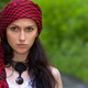Girl in a red kerchief - PhotoDune Item for Sale
