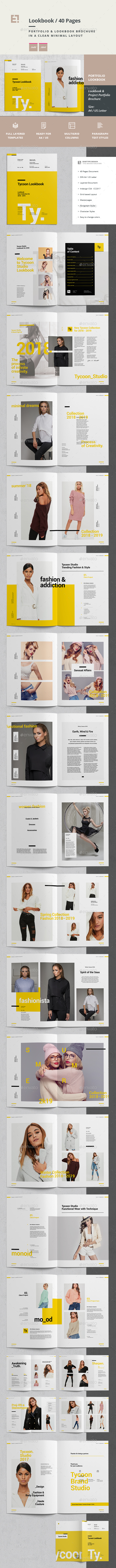 Lookbook - Catalogs Brochures