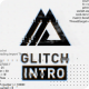 Black White Glitch Logo - VideoHive Item for Sale