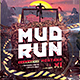 Mud Run Flyer II - Obstacle Race Template - GraphicRiver Item for Sale