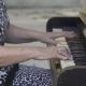 Old Woman Playing the Piano - VideoHive Item for Sale