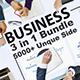 3 in 1 Business Bundle Google Slide - GraphicRiver Item for Sale
