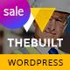 TheBuilt - Construction, Architecture & Building Business WordPress theme - ThemeForest Item for Sale