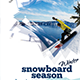 Sbowboard Season Flyer - GraphicRiver Item for Sale