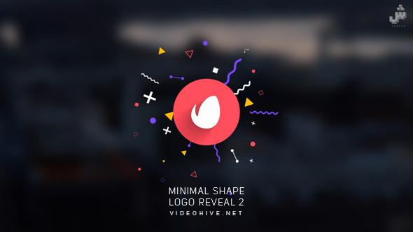 VideoHive Minimal Shape Logo Reveal 2 21018169