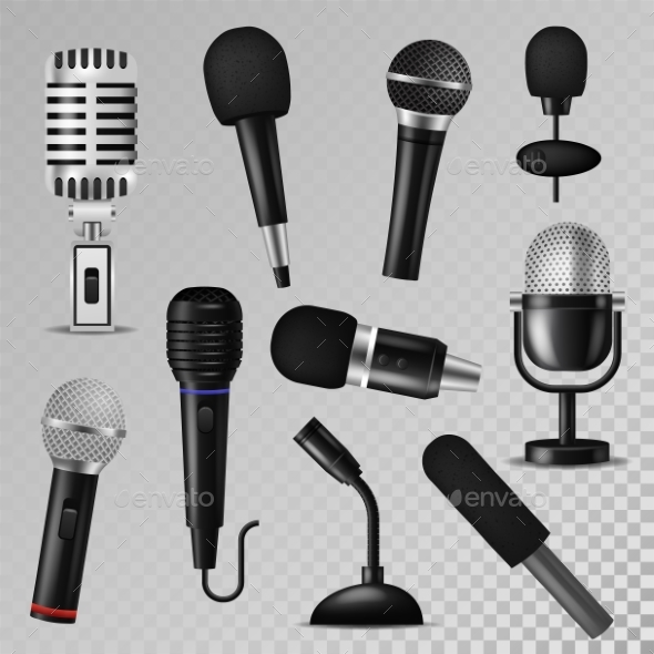 GraphicRiver Sound and Audio Vectors 21018525
