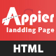 Appier - HTML5 App Landing_Page - ThemeForest Item for Sale