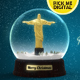 Snow Globe - Christ The Redeemer - VideoHive Item for Sale