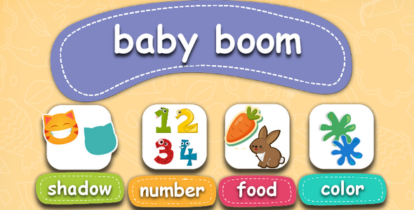 CodeCanyon Baby boom-educational children's game 21018760