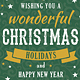 Christmas Greeting Cards Templates Set