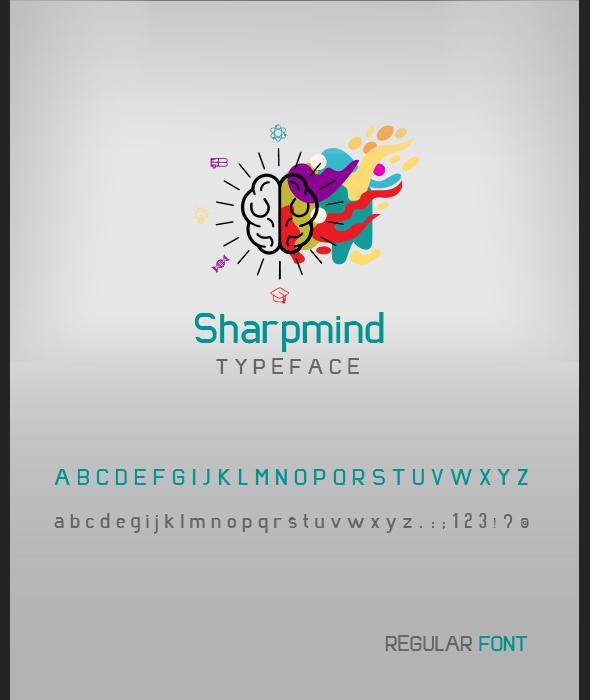 Sharpmind font - Cool Fonts