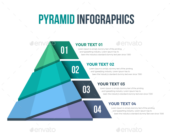GraphicRiver Pyramid Infographics 21019051