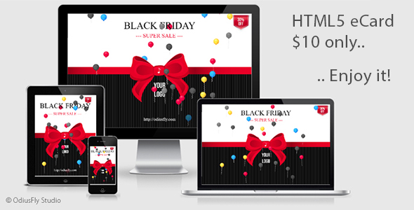 Black Friday Card v1 - CodeCanyon Item for Sale