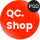 QCShop - eCommerce PSD Template