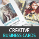 Creative Business Cards - Designer &Photographer - GraphicRiver Item for Sale