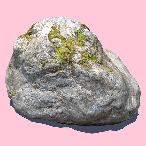 Elisabeth Moss Rock - 3DOcean Item for Sale