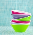 A Stack of Colorful Bowls  - PhotoDune Item for Sale