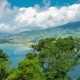 Panoramic View on Lake Lake Buyan on Bali Island - VideoHive Item for Sale
