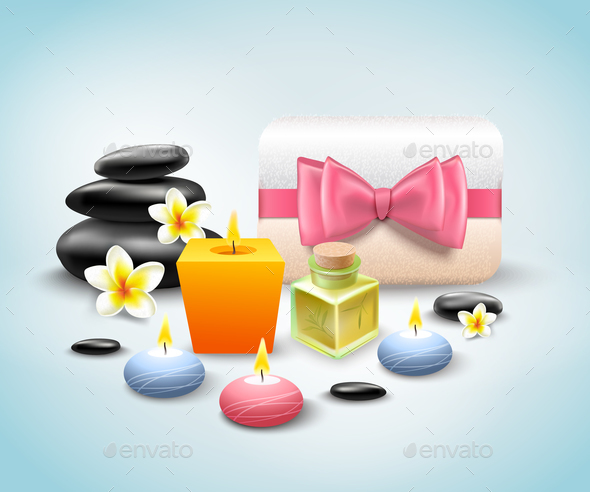GraphicRiver Spa Set 21019377