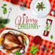 Realistic Turkey Christmas Illustration