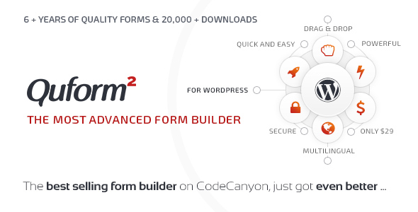 Quform - WordPress Form Builder - CodeCanyon Item for Sale