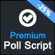 Premium Poll Script - CodeCanyon Item for Sale