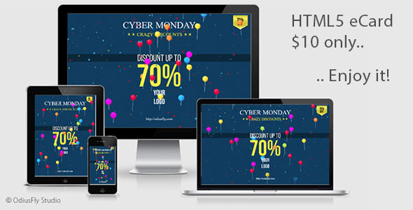 Cyber Monday Card v1 - CodeCanyon Item for Sale