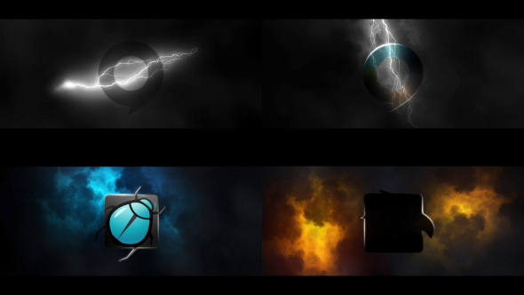 VideoHive Lightning Logo Reveal 20972126