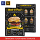 "King Burger ""Flyer Menu Template"" - GraphicRiver Item for Sale"